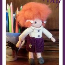 Any, petite poupée au crochet