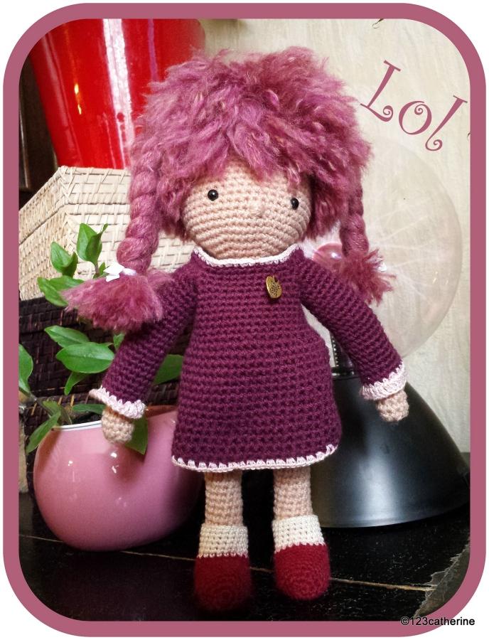Lol, petite poupée au crochet