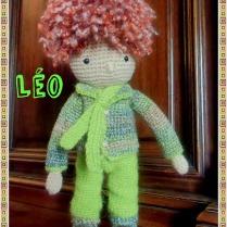 Léo, petit bonhomme au crochet