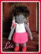 Léa, petite poupée au crochet