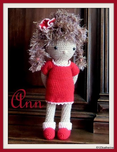 Ann petite poupée au crochet