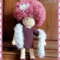 Cat, petite poupée au crochet