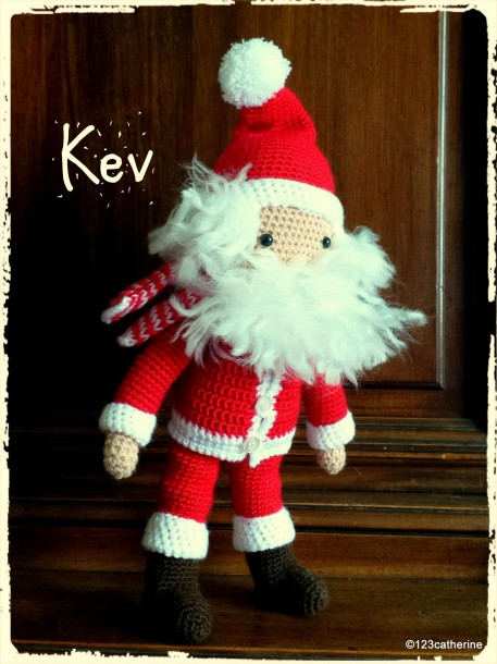 Kev, petit bonhomme au crochet