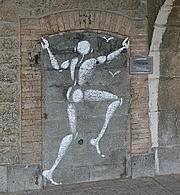 Graffitis et empreintes Depuis des millions d'années, l'homme marque son passage sur la terre par des dessins, des gravures, des sigles, des mots…