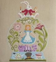 Jardin Privé Point de Croix, Création Nathalie Cichon, Création Camille Camps, Création The Pink Needle, Fils Nina's Threads, Toiles, Règles de Brodeuses…