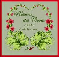 Passion des Croix Frédérique leroy créatrice pour Passion des Croix saura vous enchanter par ses créations originales. Un univers entre l'ile de Ré, le point compté, la vie de famille, les voyages . Des petits instants de la vie tout en douceur.