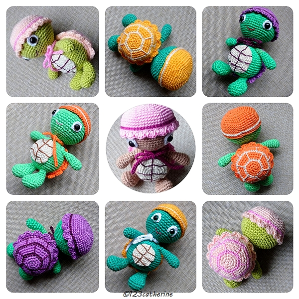 tortues au crochet